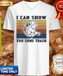 Nice Raccoon And Possum I Can Show You Some Trash Vintage V-neck