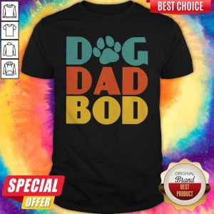 Awesome Dog Dad Bod Shirt