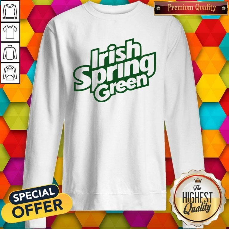 Awesome Irish Spring Green Sweatshirt