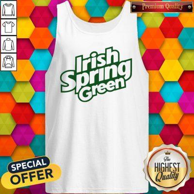 Awesome Irish Spring Green Tank Top