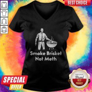 Awesome Smoke Brisket Not Meth V-neck