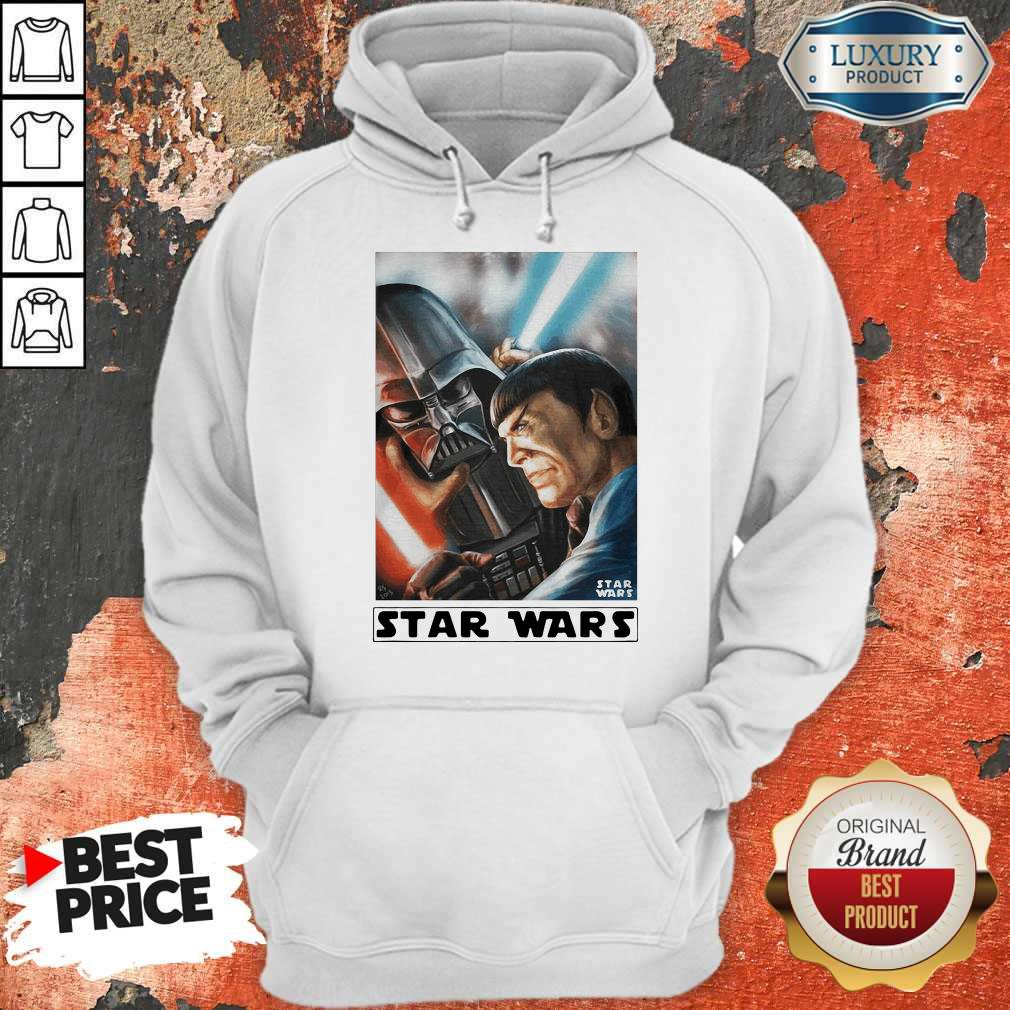 Awesome Star Wars Meets Star Trek Hoodie