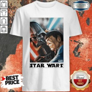 Awesome Star Wars Meets Star Trek Shirt