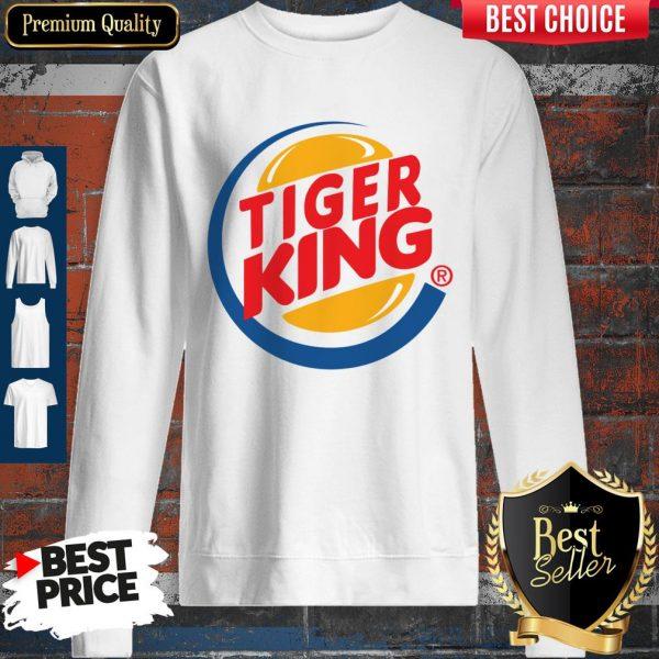 Awesome Tiger King Sweatshirt