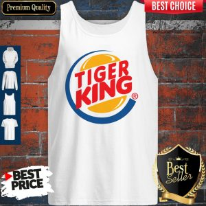 Awesome Tiger King Tank Top