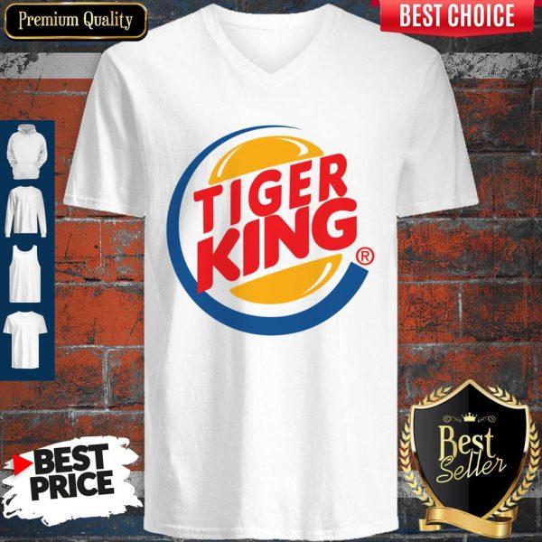 Awesome Tiger King V-neck