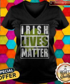 Funny Irish Lives Matter V-neck
