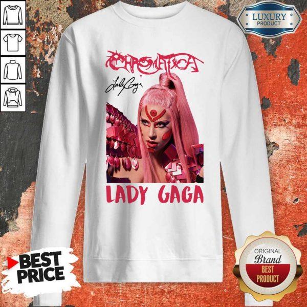 Funny Lady Gaga Chromatica Signature Sweatshirt