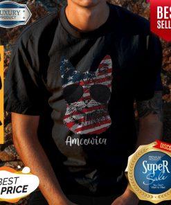 Good Ameowica Cat American Flag Shirt