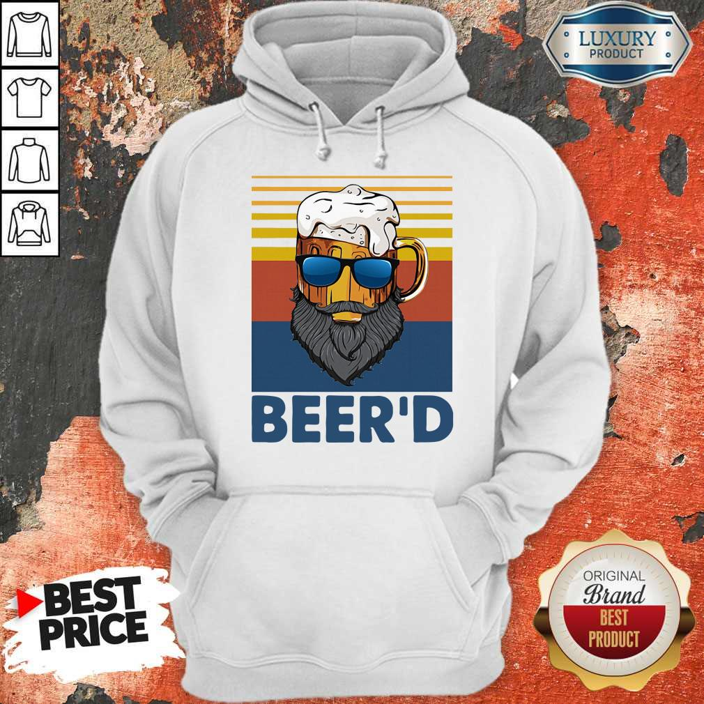 Good Beer Beer'd Vintage Hoodie