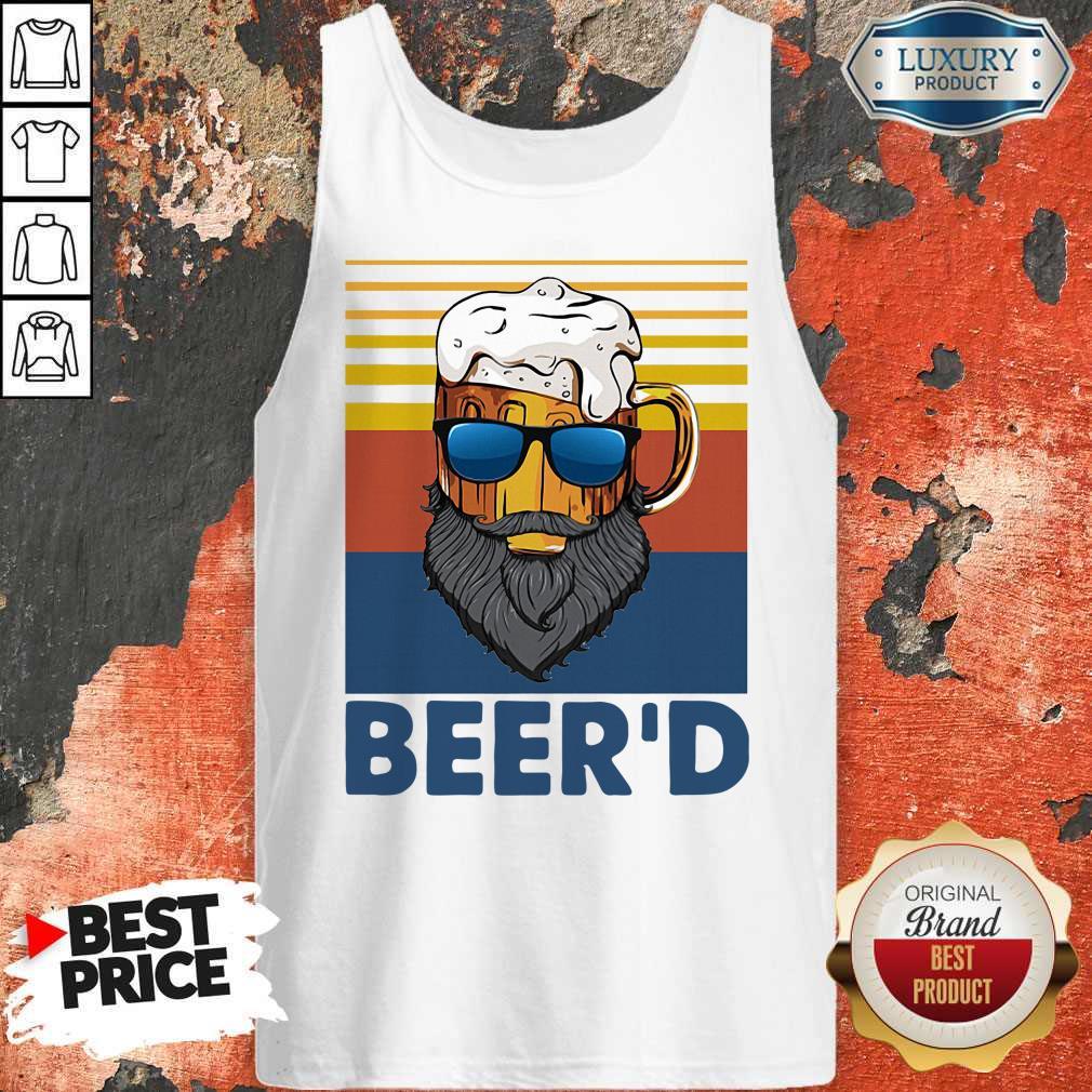 Good Beer Beer'd Vintage Tank Top