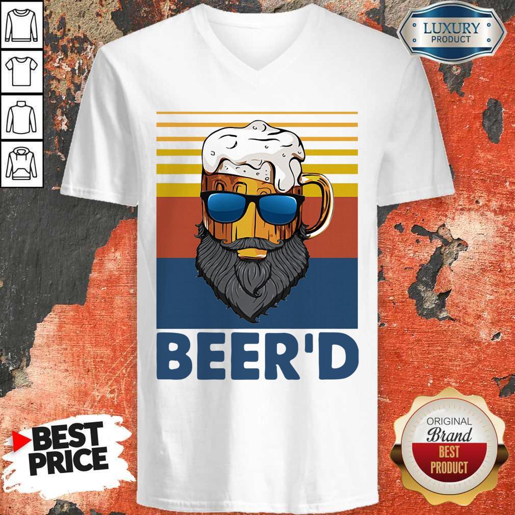Good Beer Beer'd Vintage V-neck