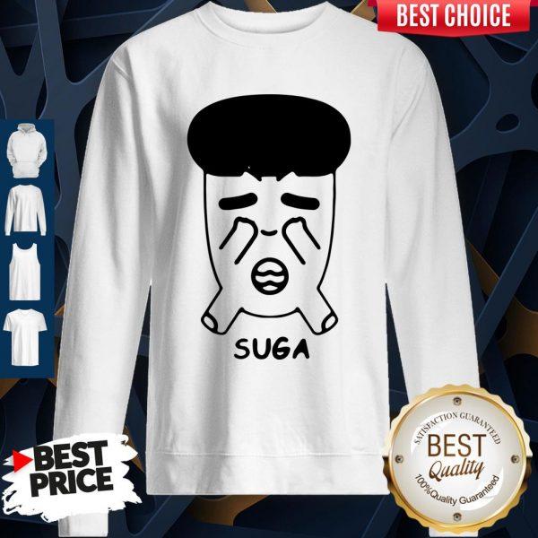 Good Fanstown Bts Bangtan Boy Same Cartoon Suga Sweatshirt
