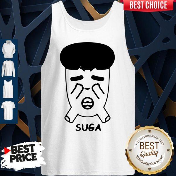 Good Fanstown Bts Bangtan Boy Same Cartoon Suga Tank Top