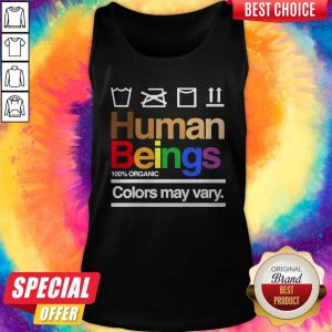 Good Human Beings 100′ Organic Colors May Vary Tank Top
