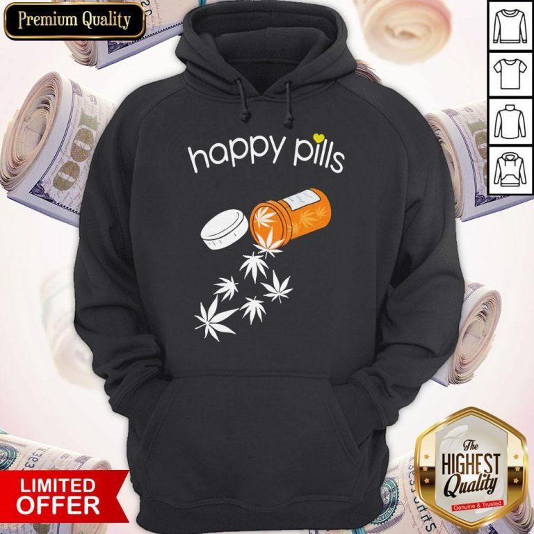 Good Weed Happy Pills Hoodie
