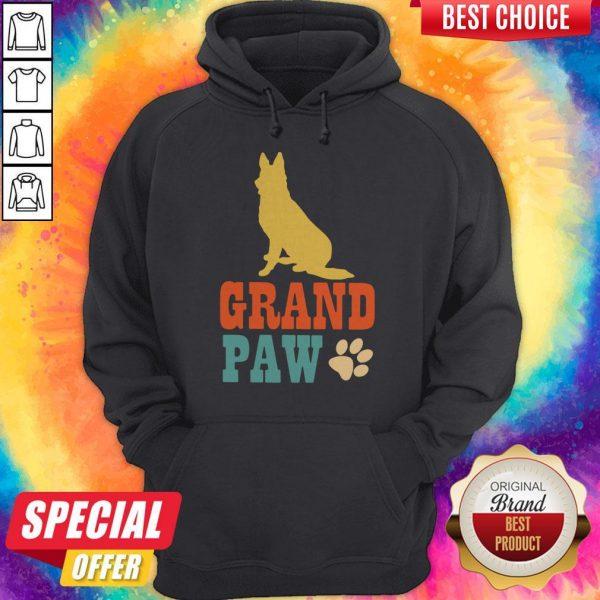 Nice Grand Paw Dog Hoodie