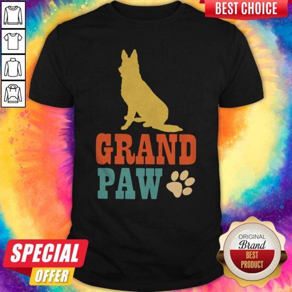 Nice Grand Paw Dog Shirt