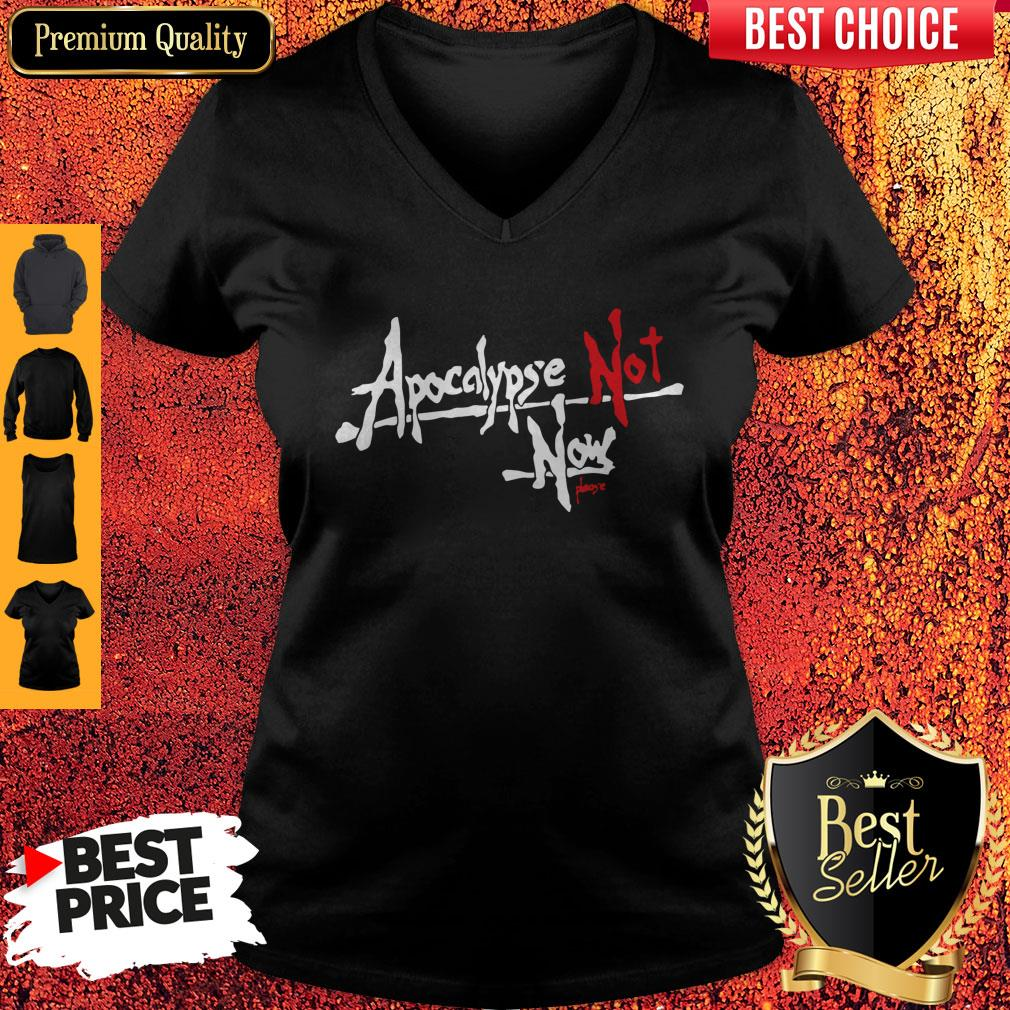 Official Apocalypse Not Now Please V-neck