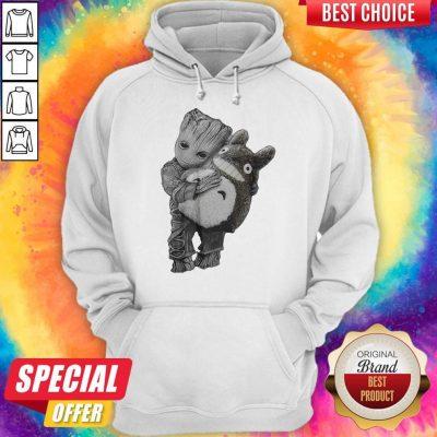 Official Baby Groot Ghibli Hoodie