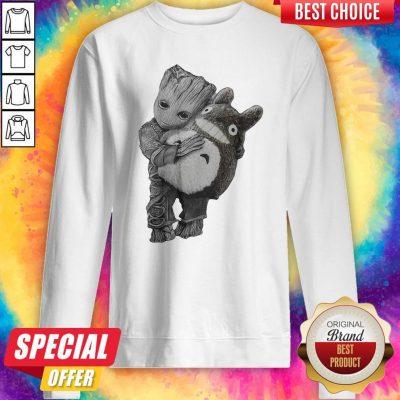 Official Baby Groot Ghibli Sweatshirt