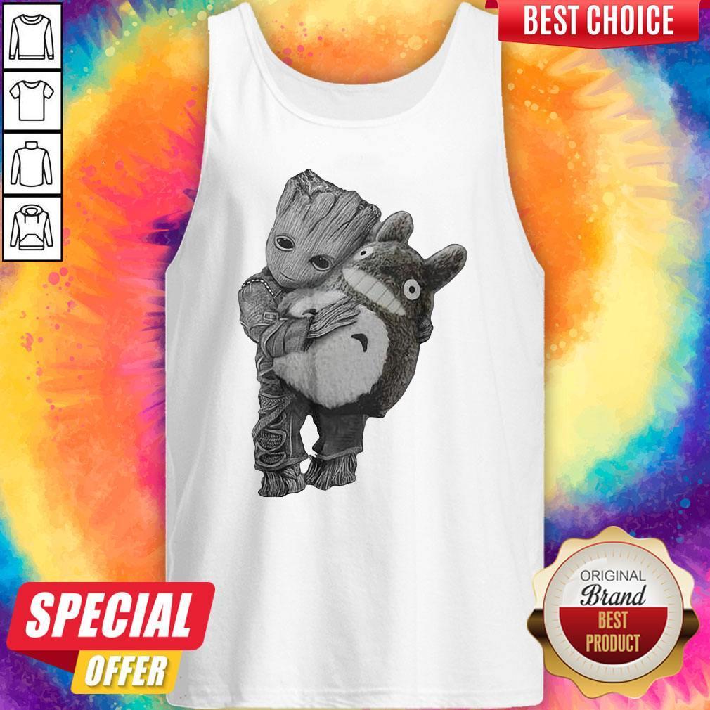 Official Baby Groot Ghibli Tank Top