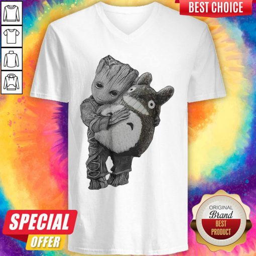Official Baby Groot Ghibli V-neck