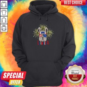 Official Llama Llalmerica American Flag 4th Of July Hoodie
