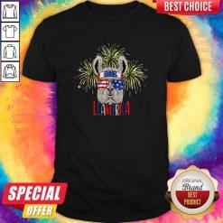 Official Llama Llalmerica American Flag 4th Of July ShirtOfficial Llama Llalmerica American Flag 4th Of July Shirt