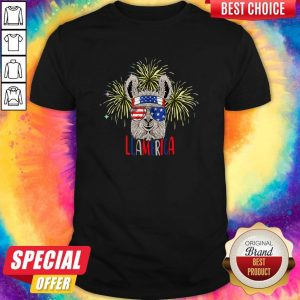 Official Llama Llalmerica American Flag 4th Of July ShirtOfficial Llama Llalmerica American Flag 4th Of July Shirt