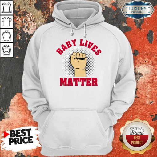 Official Strong Hand Baby Lives Matter Hoodie