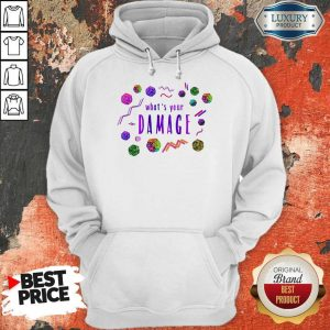 Official What's Your Damage Hoodie