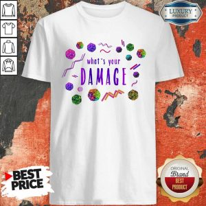 Official What's Your Damage Shirt