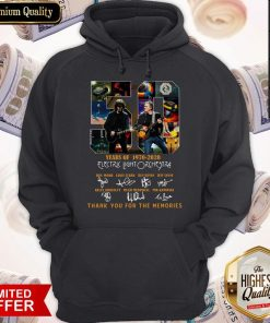 Original 50 Years Of 1970 2020 Electric Light Orchestra Thank You For The Memories Hoodie