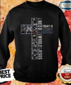 Original All I Need To Day Is A Little Bit Of Penn State And A Whole Lot Of Jesus Sweatshirt