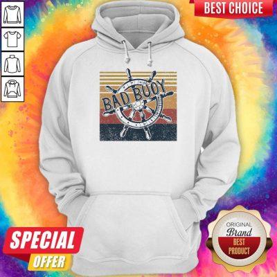 Original Bad Buoy Nauti Girl Vintage Hoodie