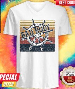 Original Bad Buoy Nauti Girl Vintage V-neck