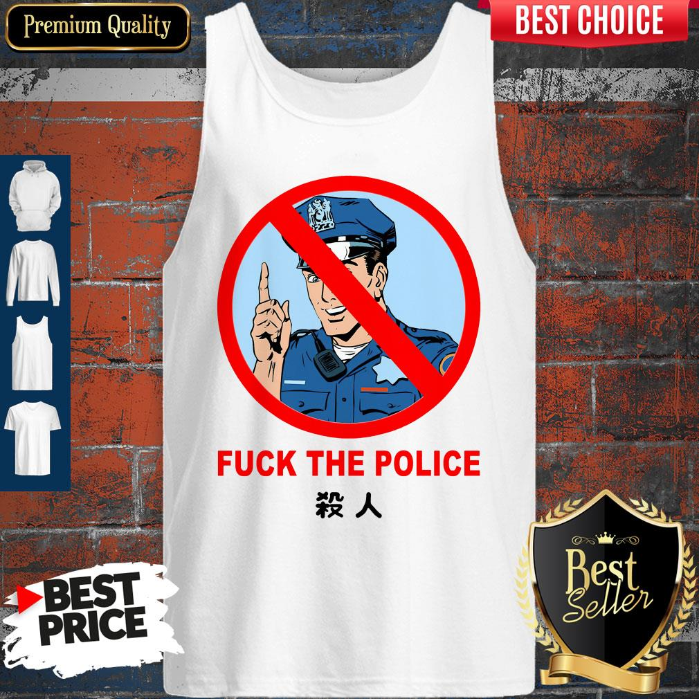 Original Fuck The Police Justice For Floyd Tank Top