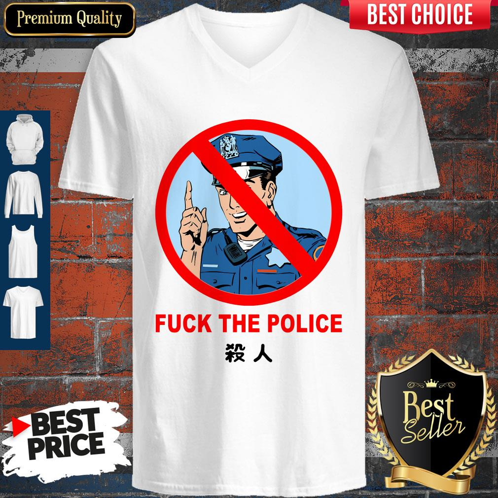 Original Fuck The Police Justice For Floyd V-neck