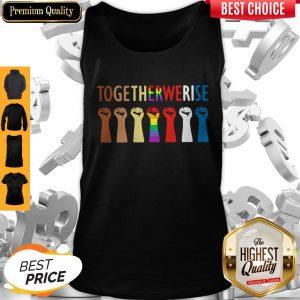Original LGBT Together We Rise Tank Top