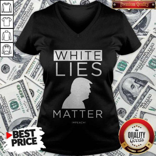 Original White Lies Matter Trump V-neck