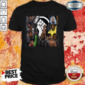 Perfect Black Panther Appreciation 2020 Strong Hand Shirt
