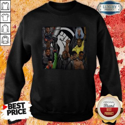 Perfect Black Panther Appreciation 2020 Strong Hand Sweatshirt
