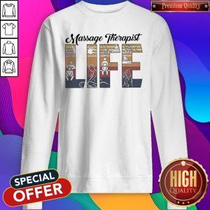 Perfect Massage Therapist Life Vintage Sweatshirt