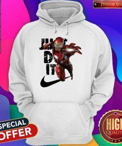 Premium Nike Iron Man Just Do It Hoodie