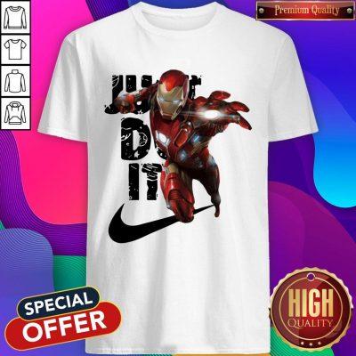 Premium Nike Iron Man Just Do It Shirt