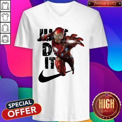 Premium Nike Iron Man Just Do It V-neck