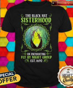 Premium The Black Hat Sisterhood Fly By Night Group Est Classic T-Shirt