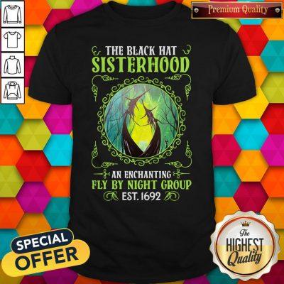 Premium The Black Hat Sisterhood Fly By Night Group Est Classic T-Shirt
