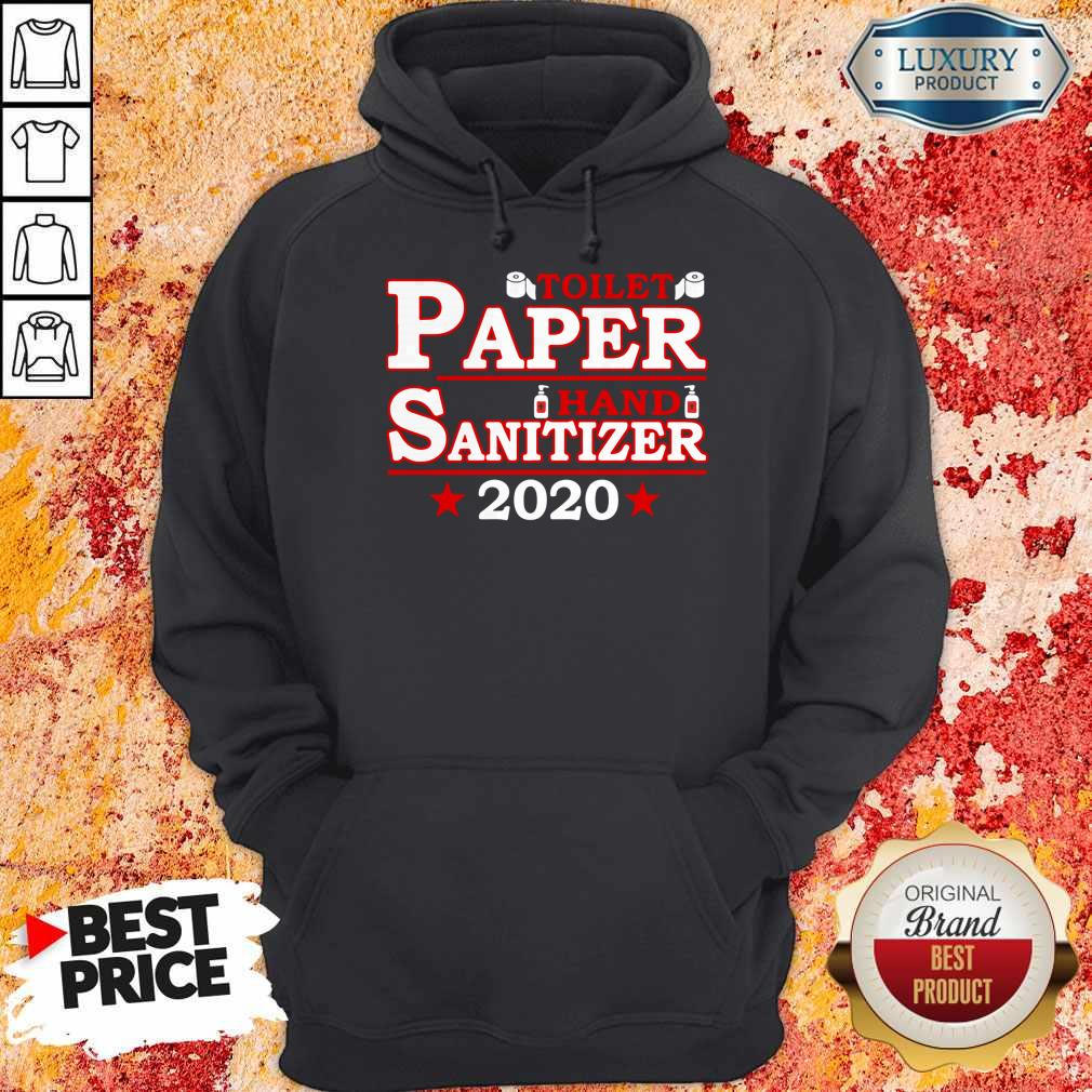 Premium Toilet Paper Hand Sanitizer 2020 Hoodie
